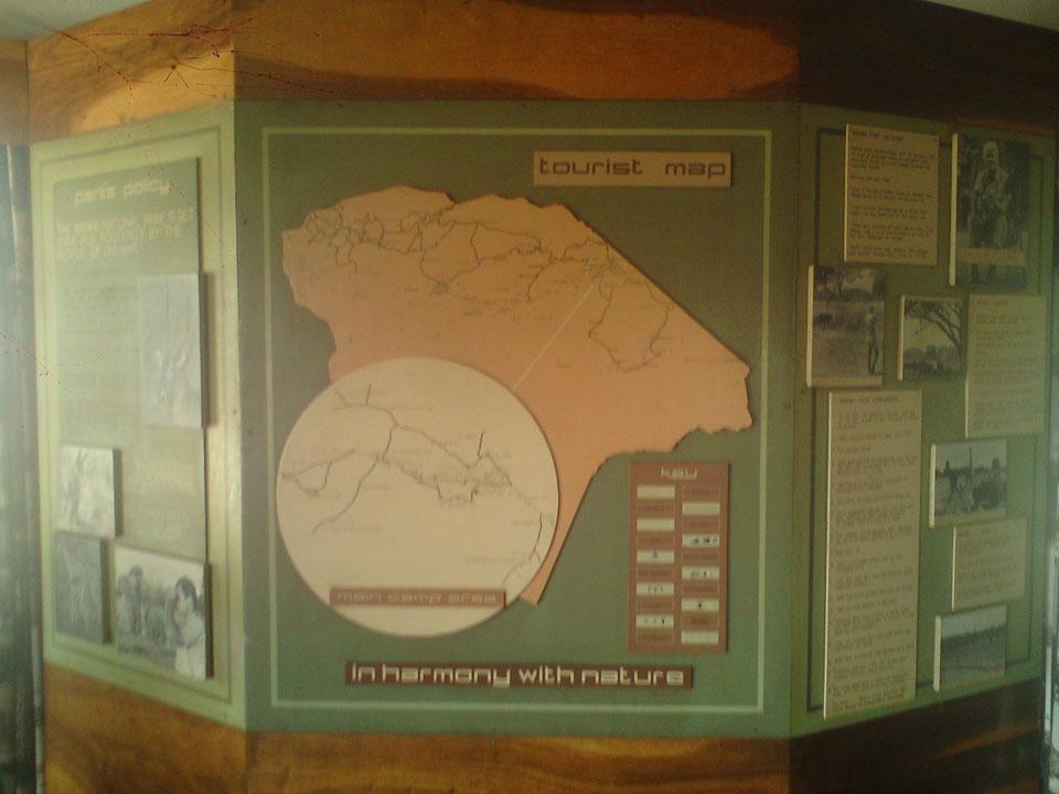 Tourist Map.